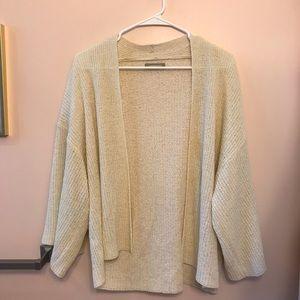 Anthropologie knit cardigan Worn 1 time!